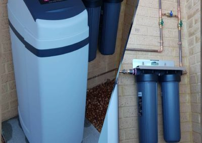 SOL40 Softener and WH2 Wholehouse Treatment