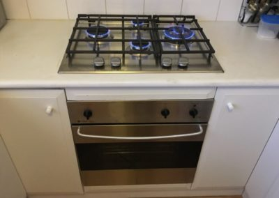 Gas Oven Install